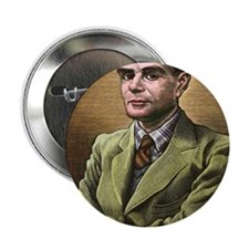 "Alan Turing, British mathematician 2.25"" Button"