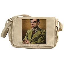 Alan Turing, British mathematician Messenger Bag