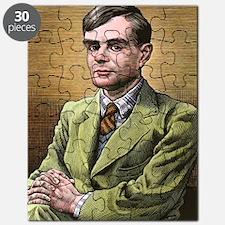 Alan Turing, British mathematician Puzzle