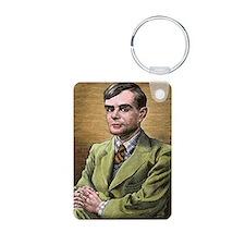 Alan Turing, British mathe Keychains