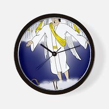 Angel choir Wall Clock