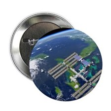 "International Space Station 2.25"" Button"