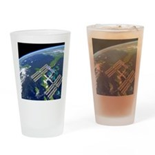 International Space Station Drinking Glass