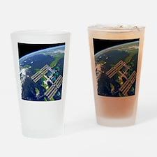International Space Station Drinking Glass