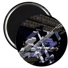 International Space Station Magnet