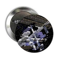 "International Space Station 2.25"" Button"