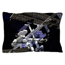 International Space Station Pillow Case