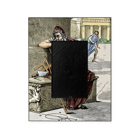 Archimedes during the sack of Syracu Picture Frame