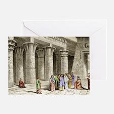 Apollonius of Perga, Greek mathemati Greeting Card