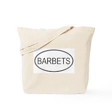 Oval Design: BARBETS Tote Bag