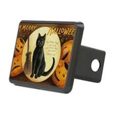 Vintage Merry Halloween Hitch Cover