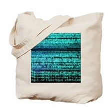 Internet computer code Tote Bag
