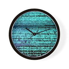 Internet computer code Wall Clock