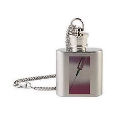 Syringe Flask Necklace