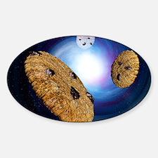 Internet cookies, computer artwork Decal
