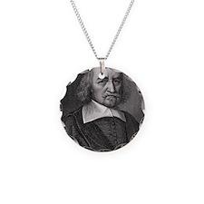Thomas Hobbes, English philo Necklace Circle Charm