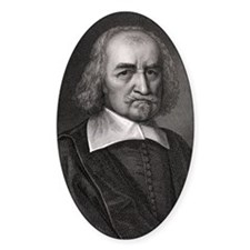 Thomas Hobbes, English philosopher Decal