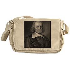 Thomas Hobbes, English philosopher Messenger Bag