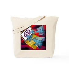 Internet shopping Tote Bag