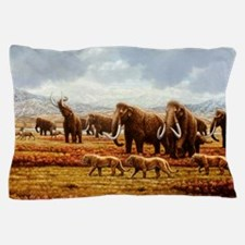 Woolly mammoths Pillow Case
