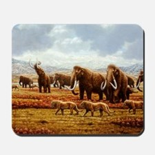 Woolly mammoths Mousepad