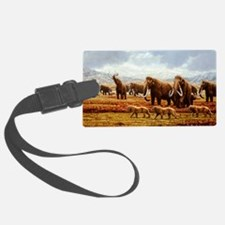 Woolly mammoths Luggage Tag