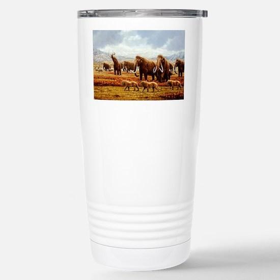 Woolly mammoths Stainless Steel Travel Mug
