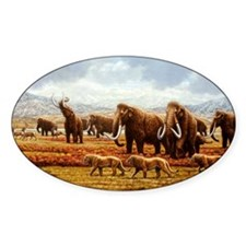 Woolly mammoths Decal