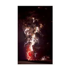 Volcanic lightning, Iceland, A Decal