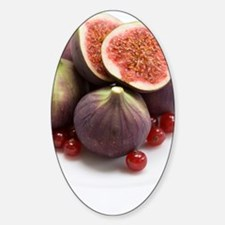 Whole and halved figs Decal