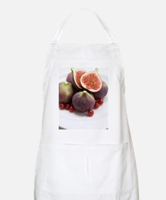 Whole and halved figs Apron
