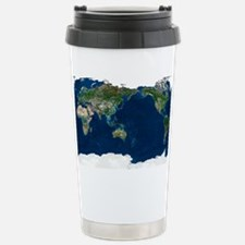 Whole Earth, satellite image Travel Mug