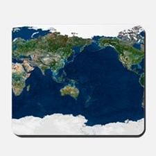 Whole Earth, satellite image Mousepad