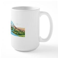 Water cycle, artwork Mug