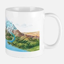 Water cycle, artwork Mug