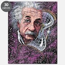 Albert Einstein, German physicist Puzzle