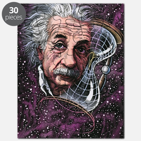 Albert Einstein, German physicist Puzzle