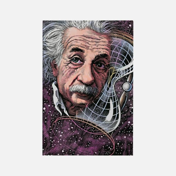 Albert Einstein, German physicist Rectangle Magnet