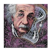 Albert Einstein, German physicist Tile Coaster