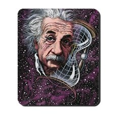 Albert Einstein, German physicist Mousepad