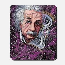 Albert Einstein, German physicist Mousepad