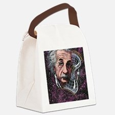 Albert Einstein, German physicist Canvas Lunch Bag