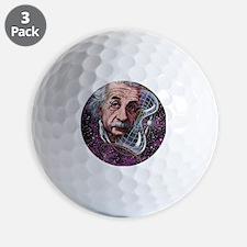 Albert Einstein, German physicist Golf Ball