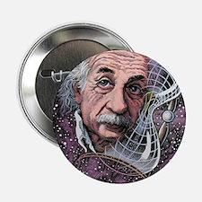 """Albert Einstein, German physicist 2.25"""" Button"""