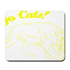 Go Cats! Smilodon Mousepad