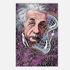 Albert Einstein, German p Postcards (Package of 8)