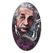 Albert Einstein, German physicist Decal