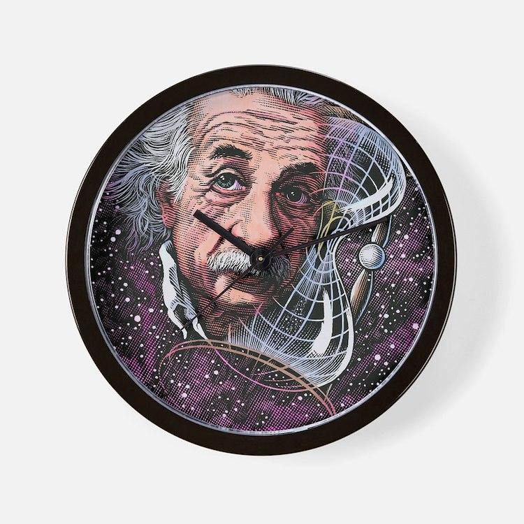 Albert Einstein, German physicist Wall Clock