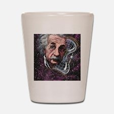 Albert Einstein, German physicist Shot Glass