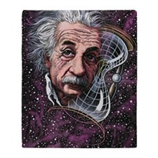 Albert Einstein, German physicist Throw Blanket